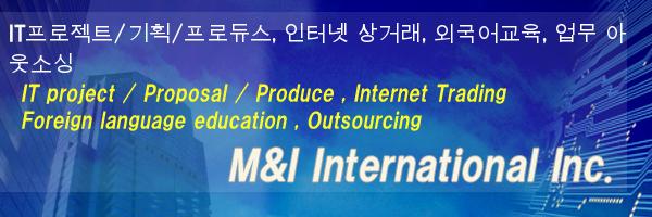 IT프로젝트/기획/프로듀스, 인터넷 상거래, 외국어교육, 업무 아웃소싱
